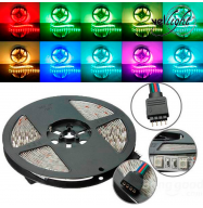 Kit Tira de LED RGB - 150 LED SMD 5050 - 5m