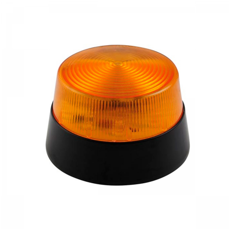 Lámpara estroboscópica LED (flash) 12V - naranja