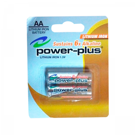 Pila AA R6 1.5V x2 (Power Plus)