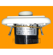 Regulador interruptor empotrar 80-500W (blanco) LQDC