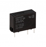 Rele 24VDC 5A 1C (OMRON G6D-1A-ASI 24VDC)