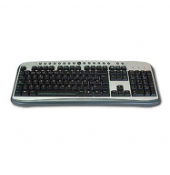 Teclado multimedia PS2 215B