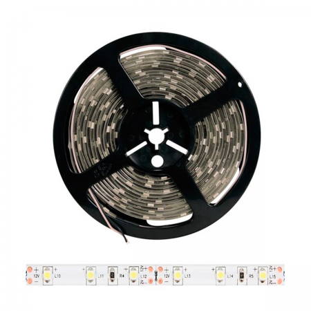 Tira de LED Blanco frio - 300 LED SMD 3528 - 5m