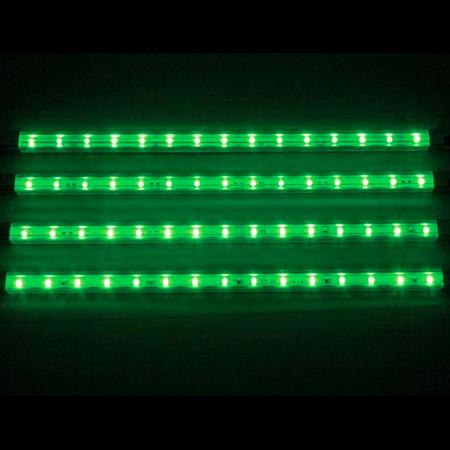 Tira de led decorativa x4 12v verde - Iluminacion led decorativa ...