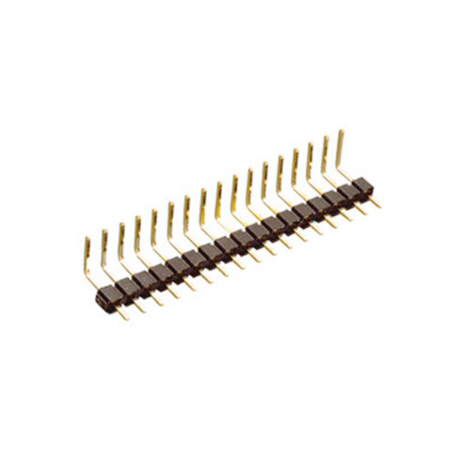 Tira pines macho acodado 40 PIN 2.00mm - C.I.