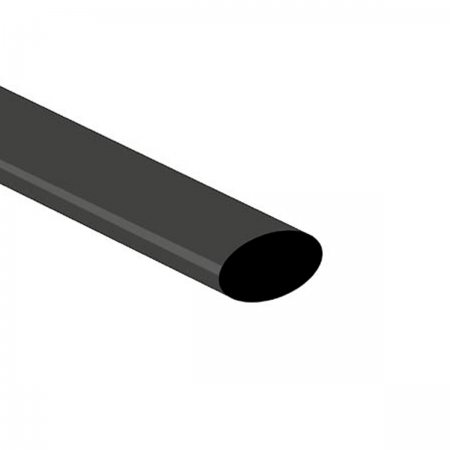 Tubo termoretractil 12.7x1000mm (0127) - negro