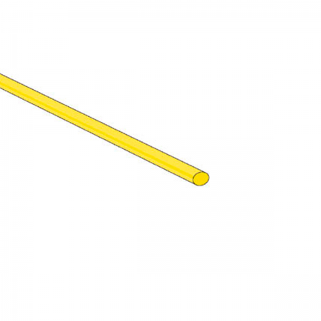 Tubo termoretractil 2.4x1000mm (0024) - amarillo