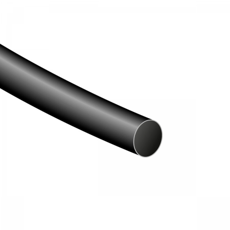 Tubo termoretractil 6.4x1200mm (0064) - negro