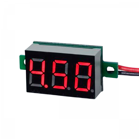 Voltimetro digital de 4.5V / 30V