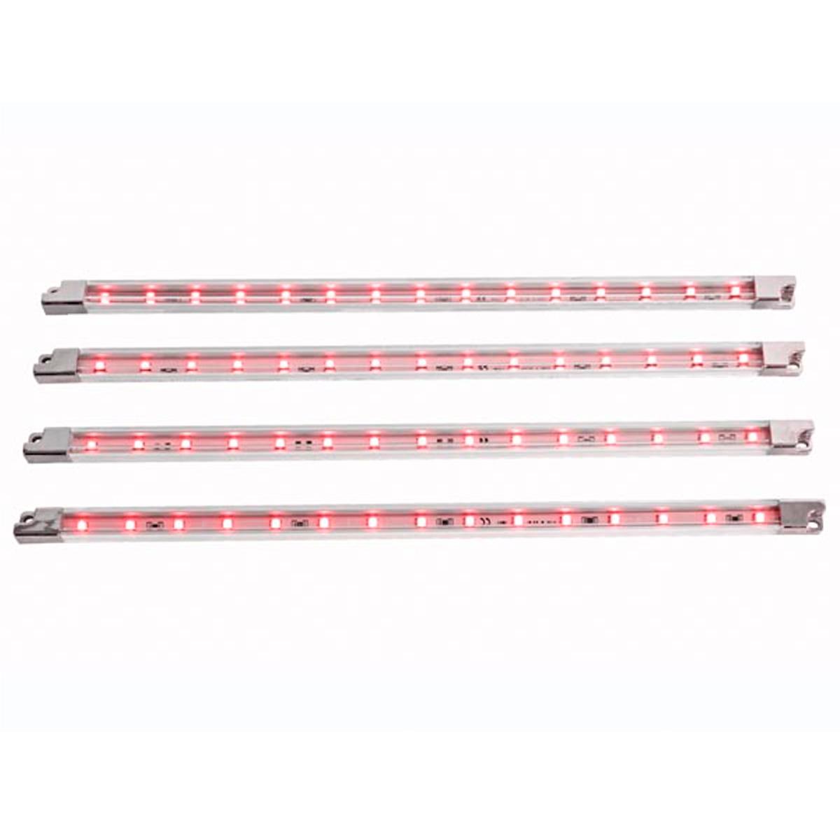 Tira de led decorativa x4 12v rojo - Iluminacion led decorativa ...