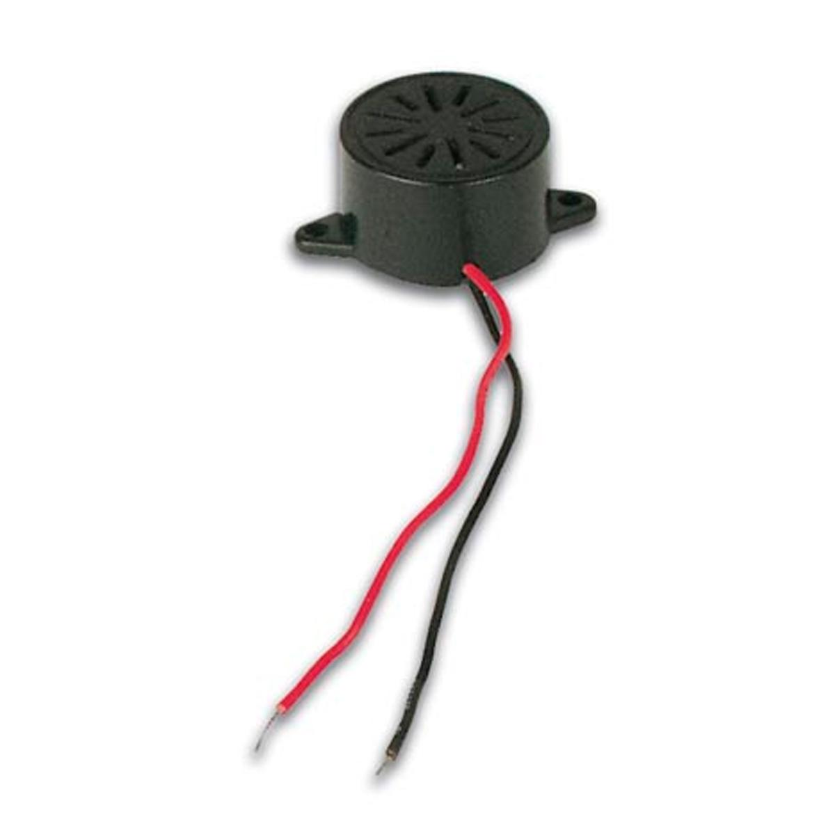 Circuito Zumbador Piezoelectrico : Zumbador piezoelectrico vdc con cable gt sensores y